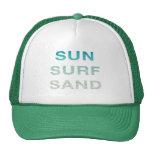 SUN SURF SAND TRUCKER HAT