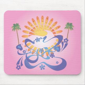 Sun & Surf!  Vector Art: Mousepad