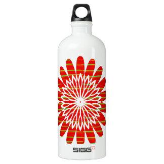 SUN SUTRA : Reiki Master created RED SHADE energy Aluminum Water Bottle