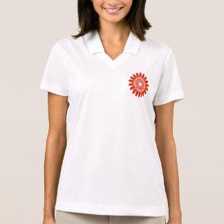 SUN SUTRA : Reiki Master created RED SHADE energy Polo Shirt