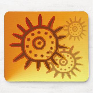 Sun Symbol-2 Mousepad Alfombrilla De Raton