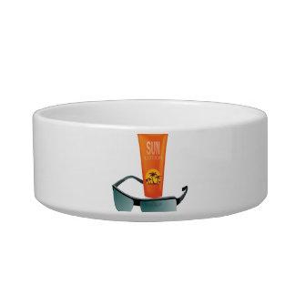 Sun Tan Lotion Bowl