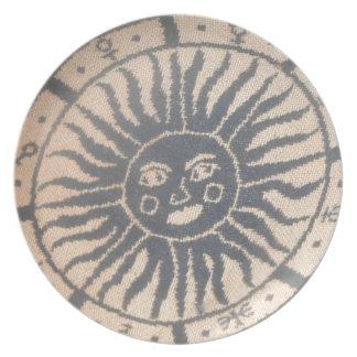 Sun Tapestry Dinner Plate