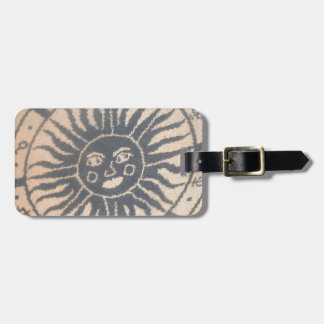 Sun Tapestry Tag For Luggage