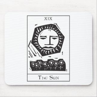 Sun Tarot Card Mouse Pad