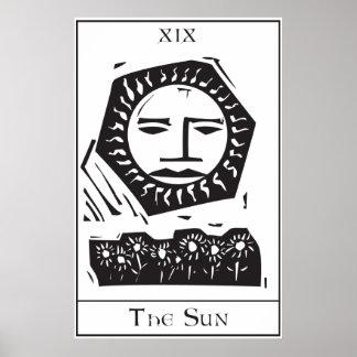Sun Tarot Card Print