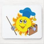 Sun teacher mousepad