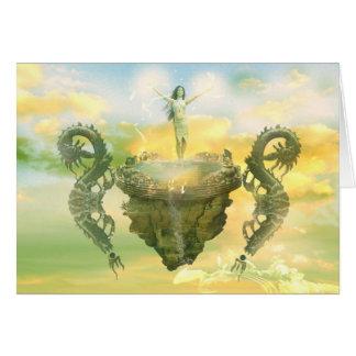 Sun Temple Greeting Card