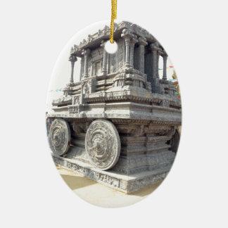 SUN temples of India miniature stone craft statue Ceramic Ornament