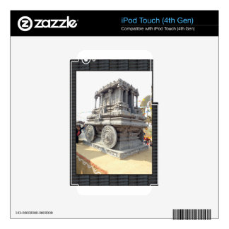 SUN temples of India miniature stone craft statue Decal For iPod Touch 4G