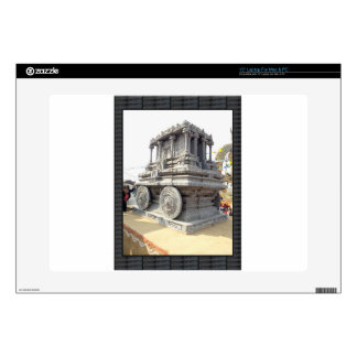 SUN temples of India miniature stone craft statue Decal For Laptop