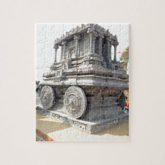 SUN temples of India miniature stone craft statue Jigsaw Puzzle