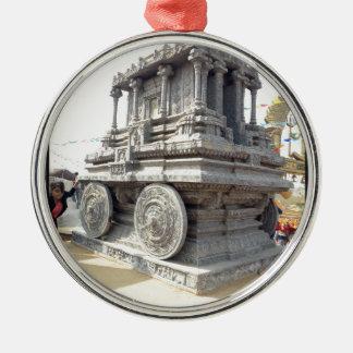 SUN temples of India miniature stone craft statue Metal Ornament