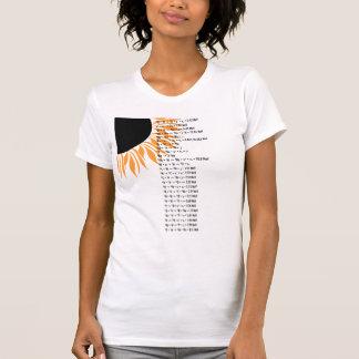 Sun termonuclear camisetas