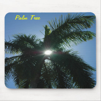 Sun through a Palm Tree Mousepad
