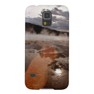 SUN THROUGH STORM CLOUDS IN GRAND PRISMATIC GALAXY S5 COVER