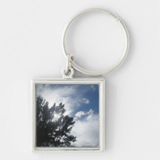Sun Through The Clouds Keychains