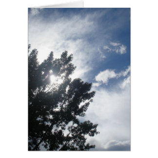 Sun Through The Clouds Stationery Note Card