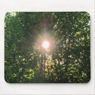 Sun through the maple  by djoneill mouse pad