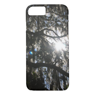 Sun Through the Oak Trees iPhone 7 Case