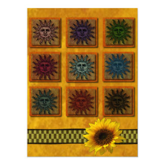 Sun Tile Card