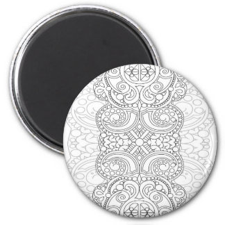Sun to moon 2 inch round magnet