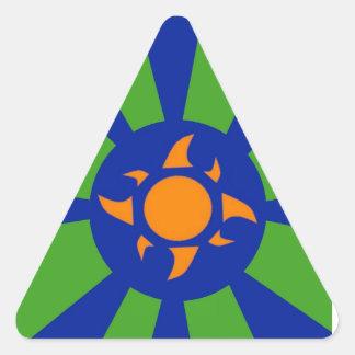 Sun Triangle Sticker