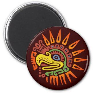 Sun tribal Eagle Imán Redondo 5 Cm