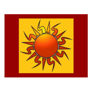 Sun tribal postales