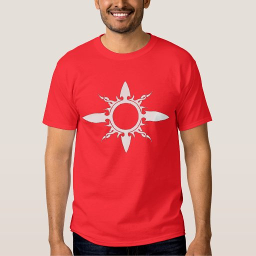 Sun tribal remera