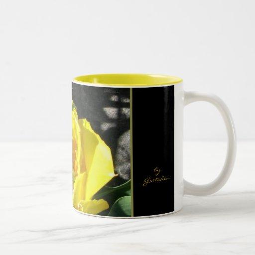Sun Tulip Coffee and Tea Mug by gretchen