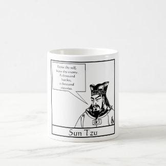 Sun Tzu and Quote Coffee Mug