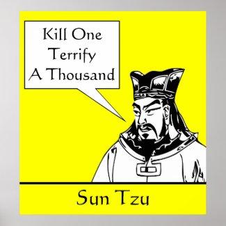 Sun Tzu and Quote print
