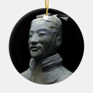 Sun Tzu Ceramic Ornament