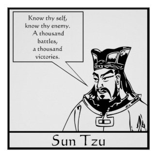 Sun Tzu -- Chinese Military Strategist Poster