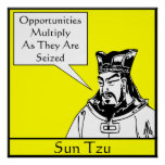 Sun Tzu -- Estratega militar chino Posters