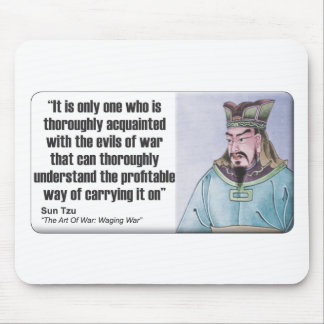 Sun Tzu: Evils Of War Mouse Pad
