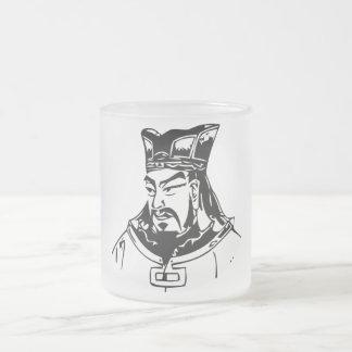SUN TZU -- Military Strategist 10 Oz Frosted Glass Coffee Mug