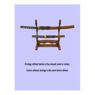 Sun Tzu Quote Postcard