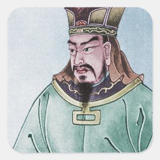 Sun Tzu Square Sticker