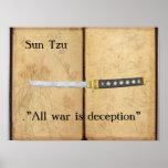 Sun Tzu - toda la guerra es engaño Impresiones