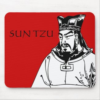 SUN TZU -- World Famous Military Strategist mousepad