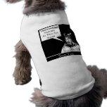 Sun Tzu y cita Camiseta De Mascota