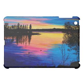 Sun Up on the Lake iPad Mini Cover