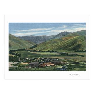 Sun Valley escena de IDSummer de la casa de campo Tarjetas Postales