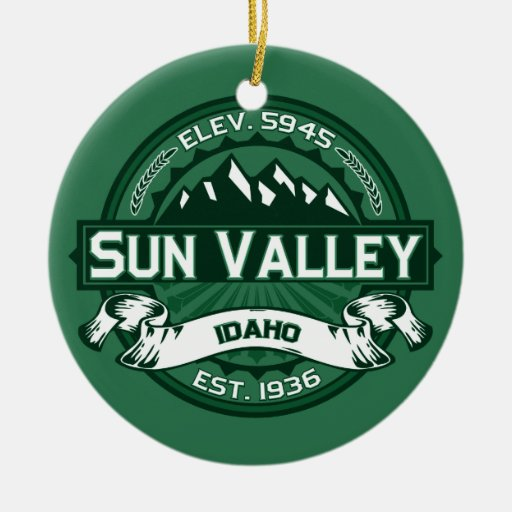Sun Valley Forest Ornaments