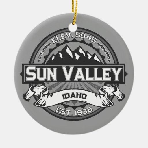 Sun Valley Grey Christmas Ornaments