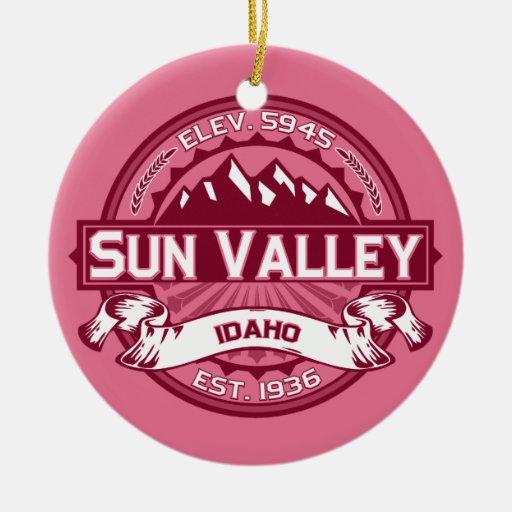 Sun Valley Honeysuckle Christmas Tree Ornament