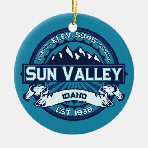 Sun Valley Ice Ornament