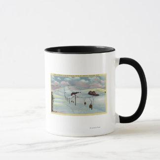 Sun Valley, ID - Sawtooth Mnts. Riding Ski Mug